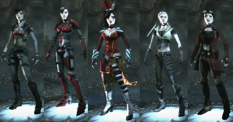 Borderlands Female Models Pack