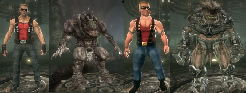 Duke Nukem Models Pack