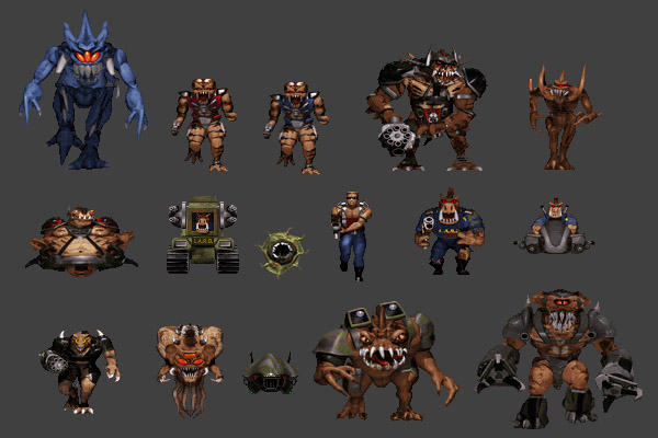 Duke Nukem Monsters v1