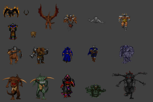 Hexen Monsters v1