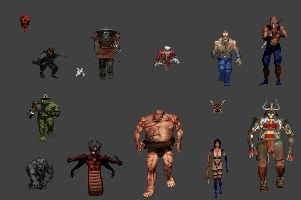 Shadow Warrior Monsters v1