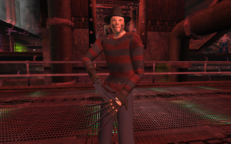 Freddy Krueger - Russian Tournament
