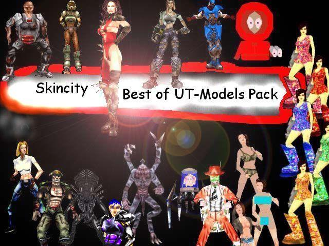Best of UT Models Pack