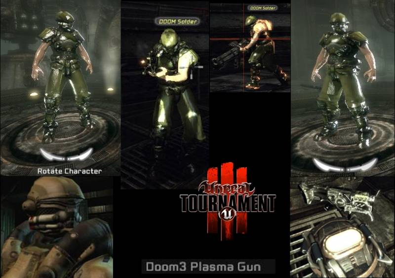 Doom3 Suit - Russian Tournament